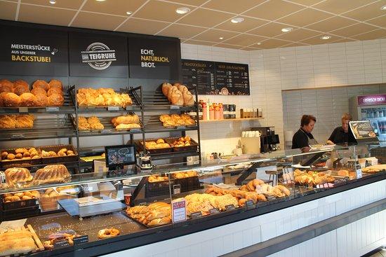 Bäckerei im Ort