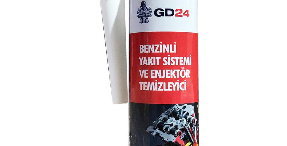 GD24 Benzinli Yakıt Sistemi ve Enjektör Temizleyici – 250 ml