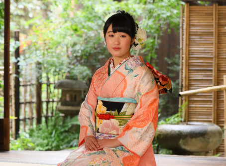 振袖記念撮影会11月 京都町家にて