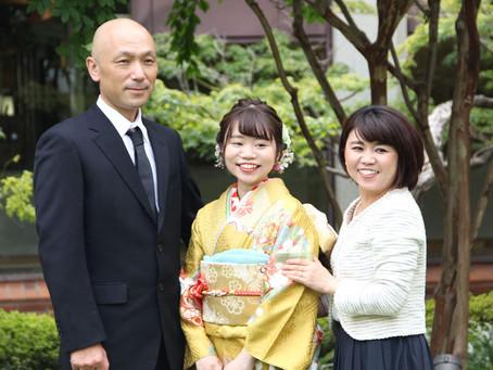 成人式の前撮り記念撮影会(2)