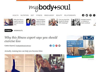 HIIT Feature in Body&Soul Magazine