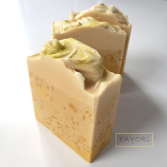 Creamy Lemon Confetti Soap    5 oza
