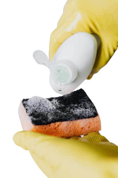keeping your kitchen sponge clean is important otherwise they fester bacteria, ewww