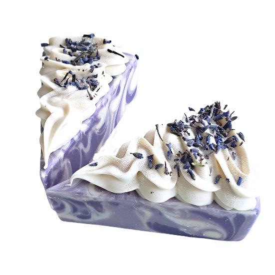 Lavender Soap Cake VEGAN    4 oz