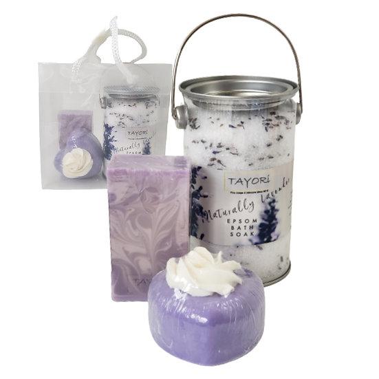 Lavender Self Care Gift Set