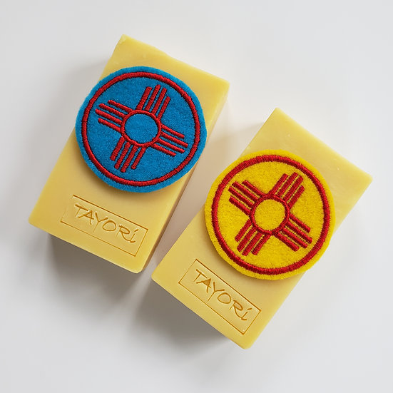 "2"" Zia Iron on Patch & Bar Soap Combo 