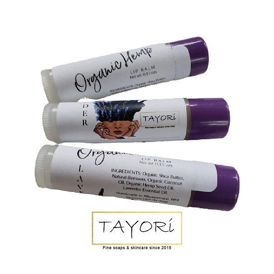 Organic Hemp Lip Balm | Lavender