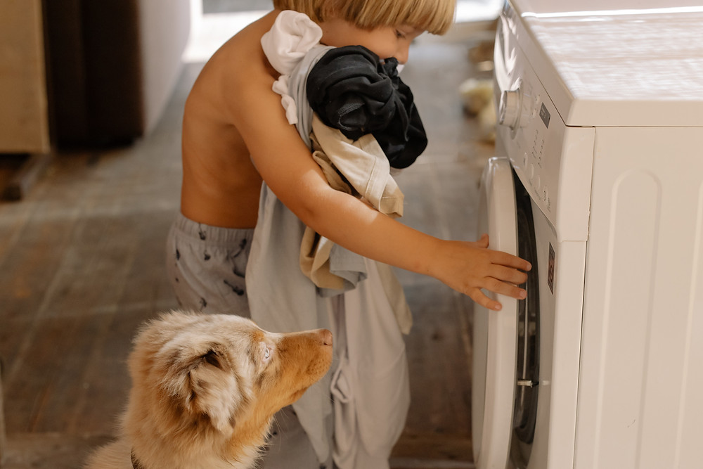 Have you trained your kids to do their own laundry?