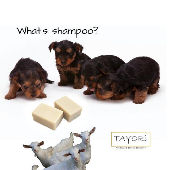 Goat Milk DOG SHAMPOO BAR SOAP | 3.5 ozs