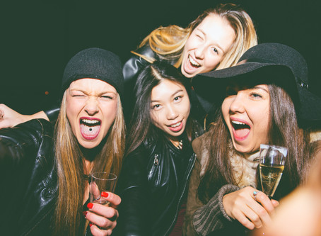 What constitutes a big night out for you (these days)?