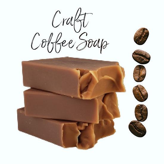 Craft Coffee VEGAN Soap | 4.5 oz or 5 oz