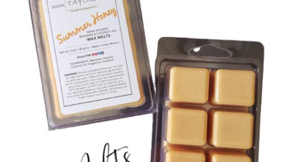 Summer Honey Natural WAX MELTS | 3 oz Clamshell
