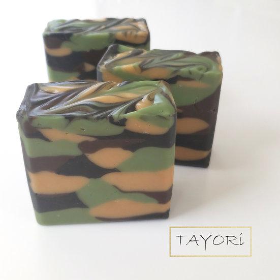 Classic Camo Bar Soap   4 ozs