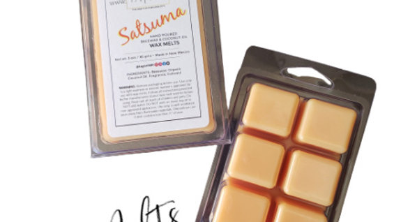 Satsuma Natural WAX MELTS | 3 oz Clamshell