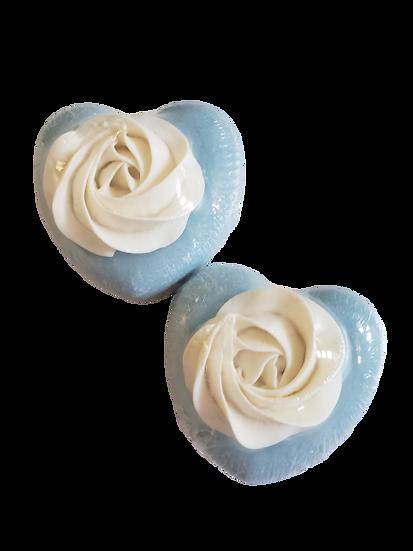 Aqua Spa Heart Soap | 4 ozs