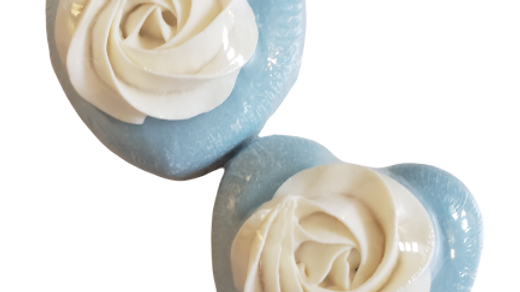 Aqua Spa Heart Soap | 4 ozs