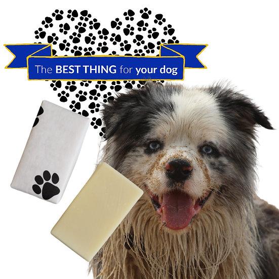 Oat Milk DOG SHAMPOO BAR SOAP | 4 ozs