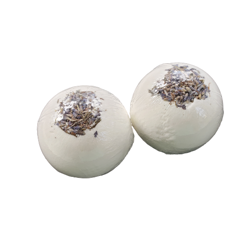 "Just Lavender Bath Bombs | 2.5"" diameter"