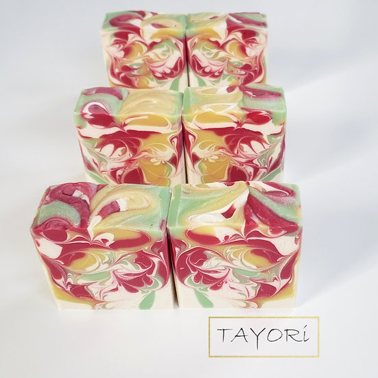 Festive Garden Bar Soap | 4.5 ozs
