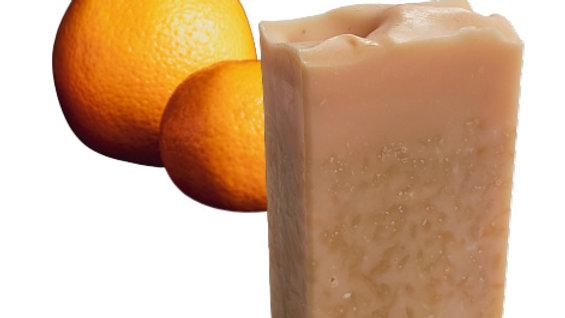 Orange Essential Oil VEGAN Soap   3.5 ozs