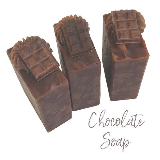 Chocolate Pecan Goat Milk Bar Soap | 2.5 ozs