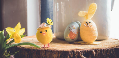 easter soaps by tayori soap