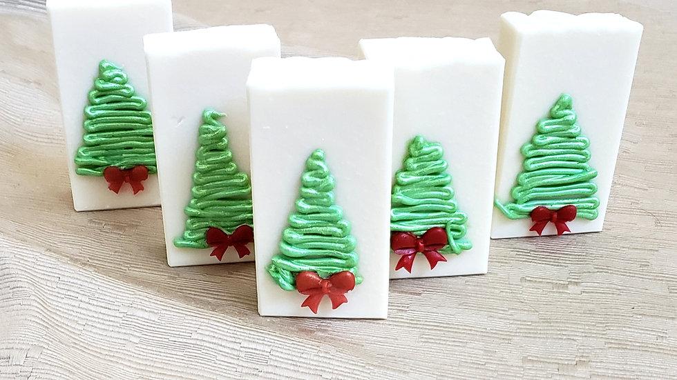 Contemporary Christmas Tree Bar Soap | 4 oz