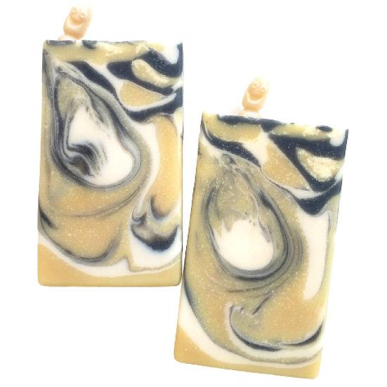 Happy Banana Worm Bar Soap | 3.5 ozs