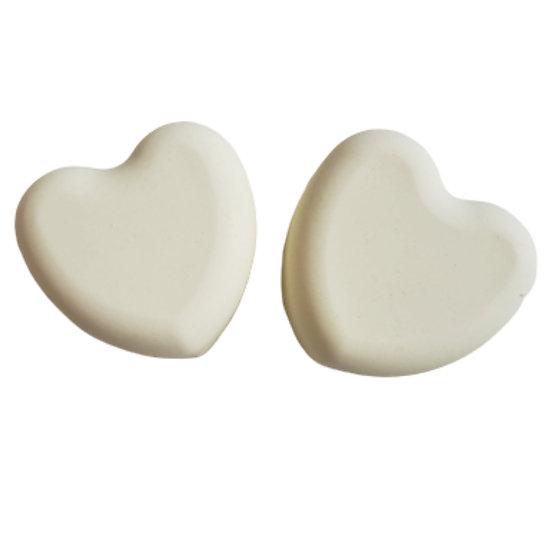 Lemon Eucalyptus Heart Soap | 3.5 ozs