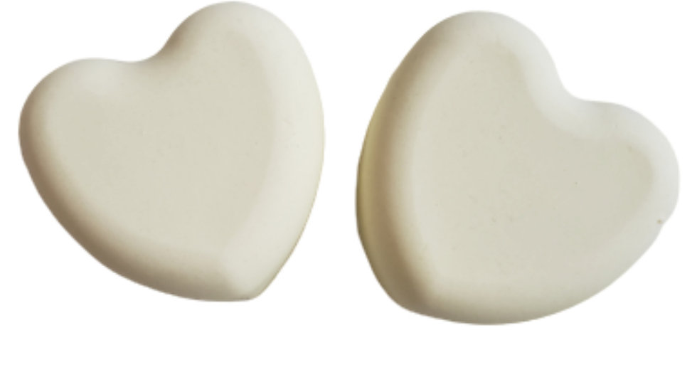 Lemon Eucalyptus Heart Soap   3.5 ozs