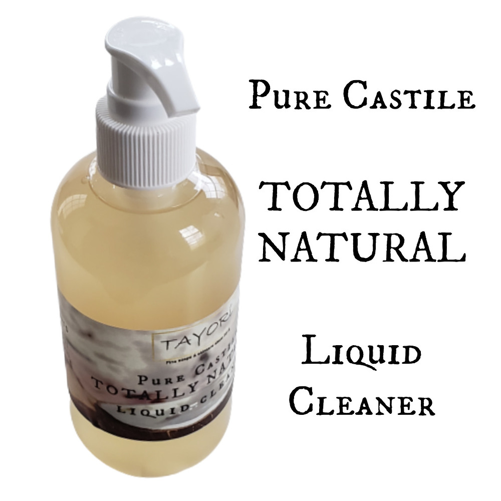 Pure Castile Totally Natural Liquid Cleaner to clean your home