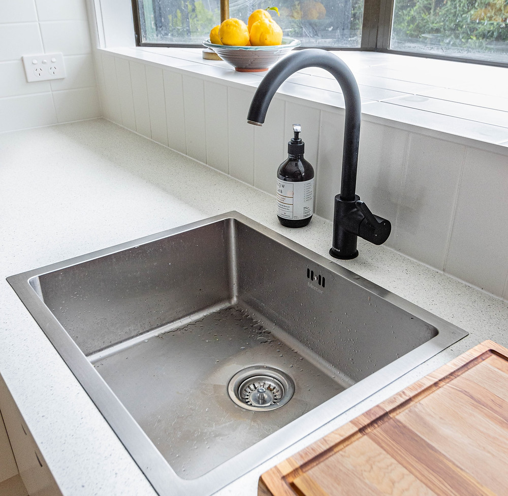 How to give your stainless steel sink a deep clean
