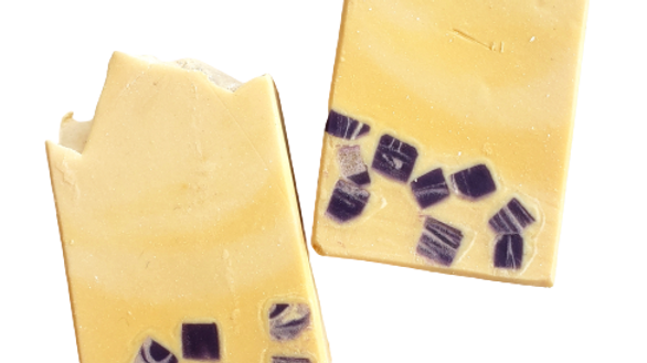 Lemon Lavender Terrazzo Bar Soap | 4.5 oz or 5 oz