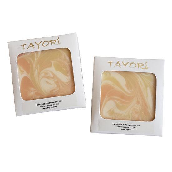 Apricot Freesia GOAT MILK Guest Soap   2 ozs