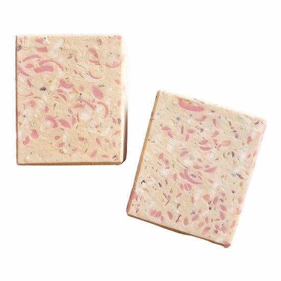 Peony Confetti Bar Soap | 3.5 oz or 4 oz or 4.5 oz