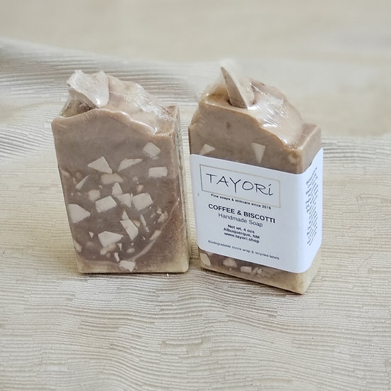 Coffee & Biscotti Bar Soap | 3.5 oz