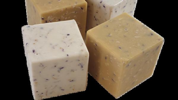 Lavender Confetti Soap Cube | 5 ozs