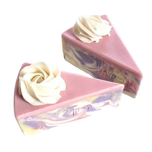 Peony Pastel Soap Cake   3.5, 2.5