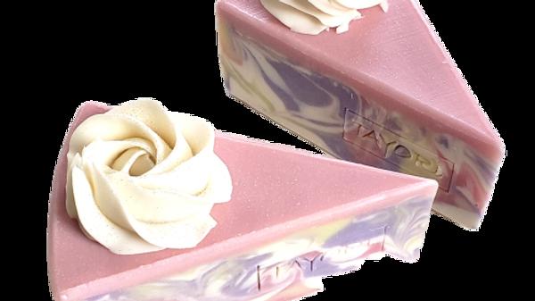 Peony Pastel Soap Cake | 3.5, 2.5