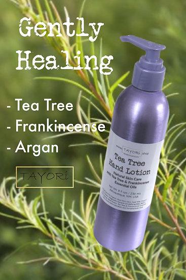 Tea Tree Hand Lotion   8 fl ozs