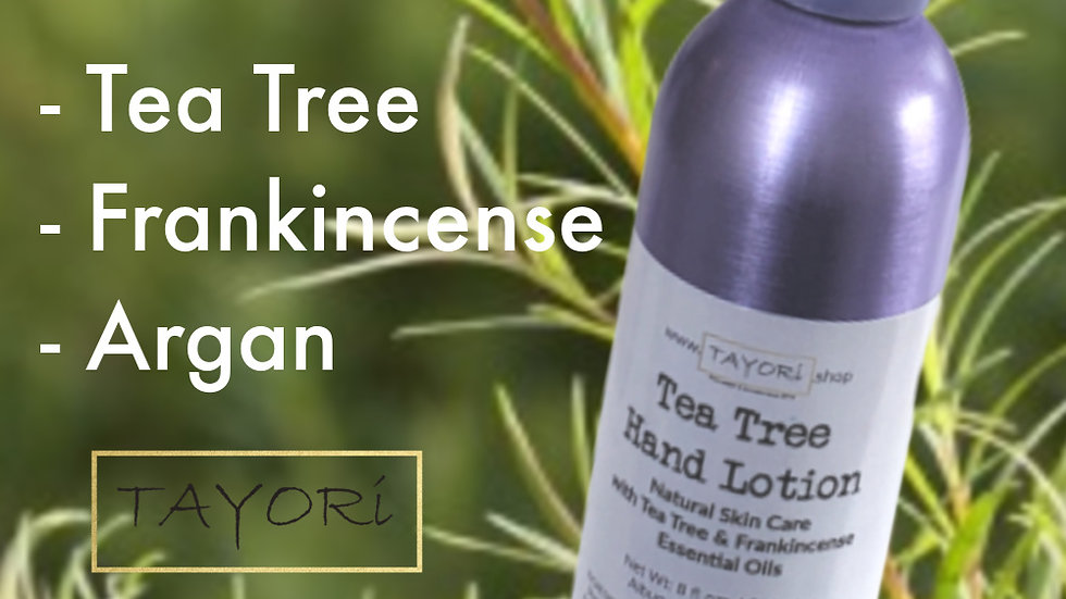 Tea Tree Hand Lotion | 8 fl ozs