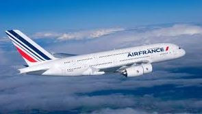Picture of an Air France plane