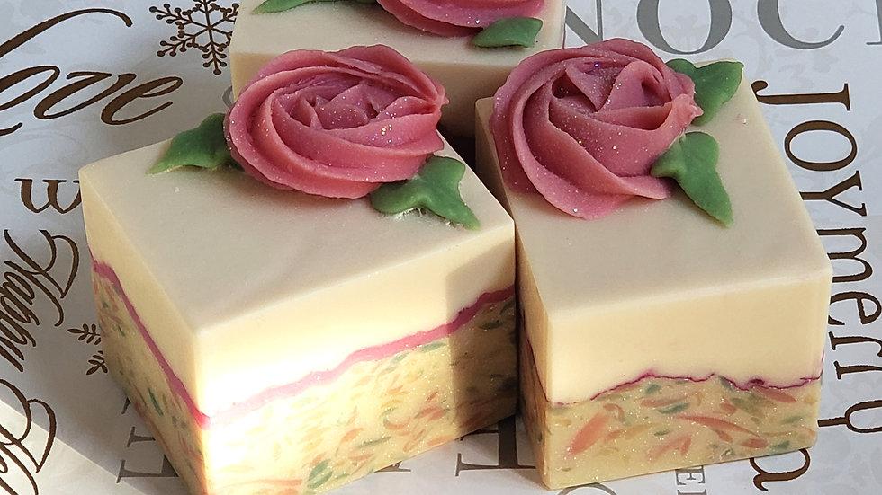 Vintage Rose Bar Soap | 4 ozs