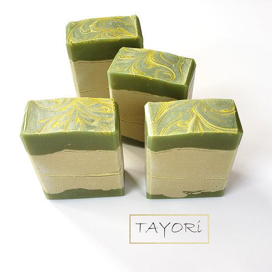 Avocado Gold Bar Soap | 4.25 oz VEGAN