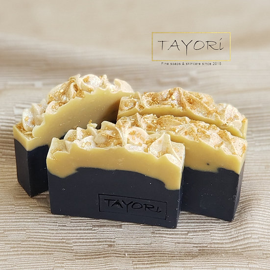 Navy Gold Guest Soaps | Set of 3