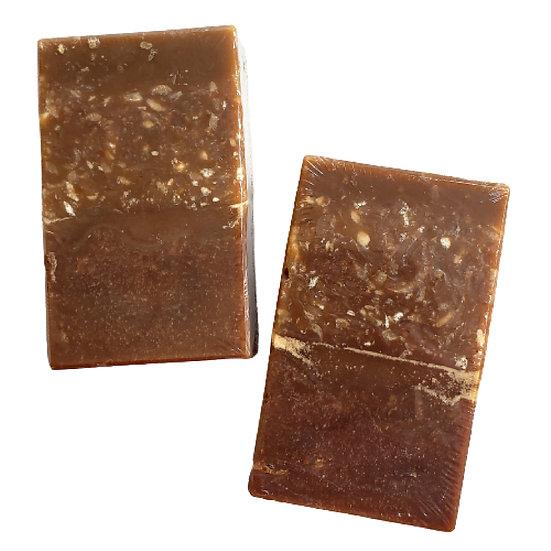 Organic Pumpkin Pecan Crunch Bar Soap | 3.5 oz