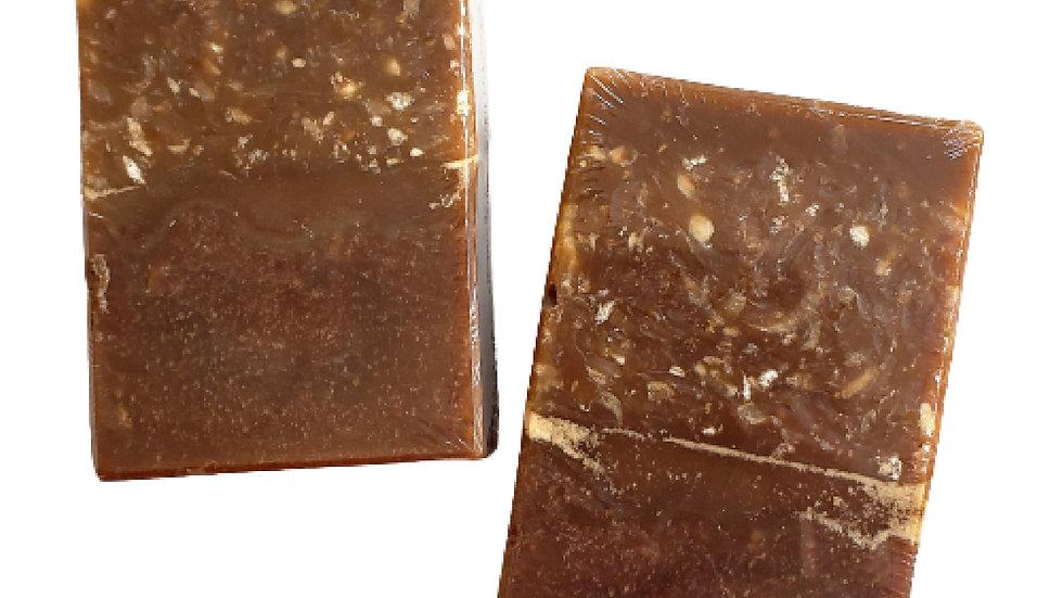 Organic Pumpkin Pecan Crunch Bar Soap   3.5 oz