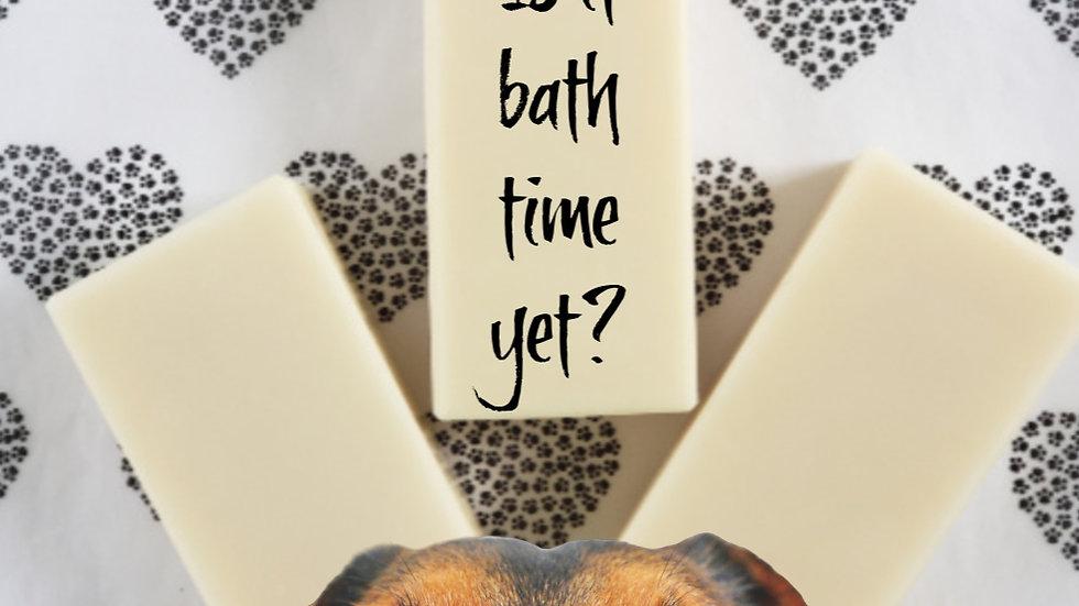 Coconut Milk DOG SHAMPOO Bar Soap | 4 ozs
