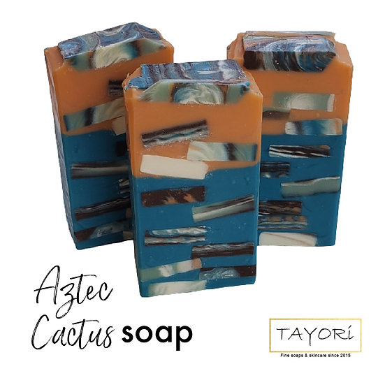 Aztec Cactus Soap | 4.5 ozs