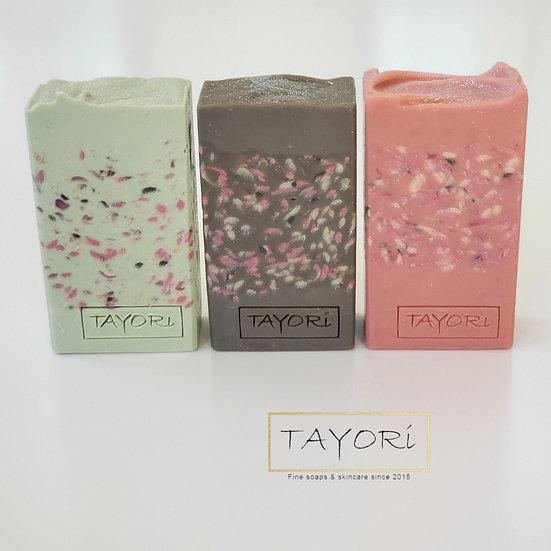 Petal Soap Bars   Set of 3